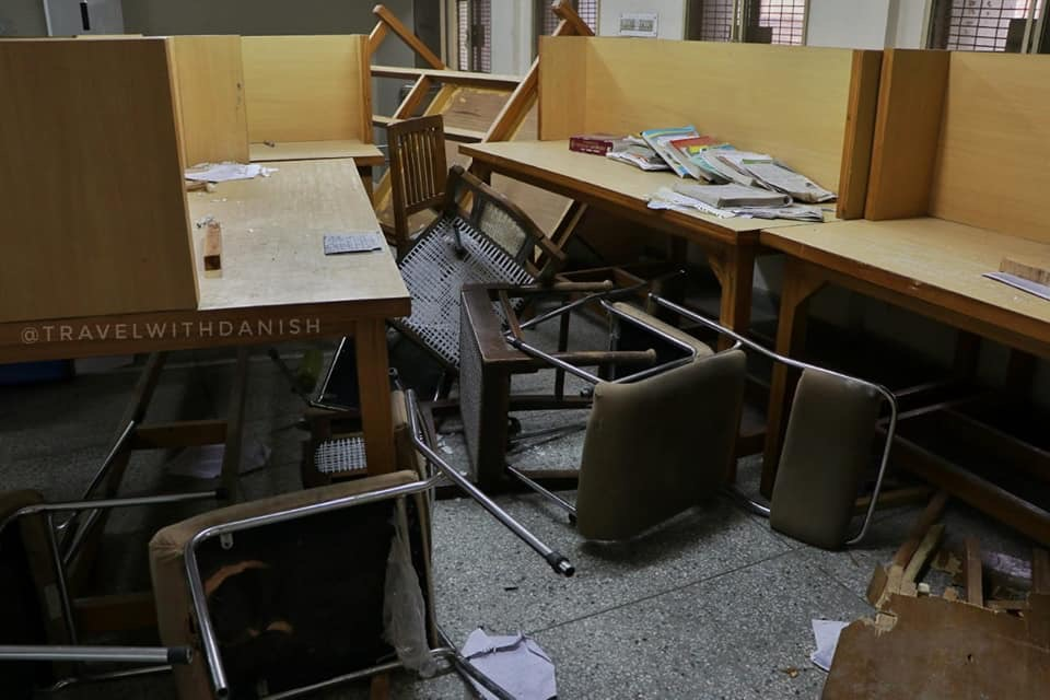 after math of jamia protest