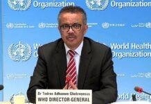 WHO Dr Tedros Adhanom Ghebreyesus