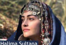 Esra Bilgic Halime Hatun Dirilis: Ertugrul Ghazi Halima Sultana
