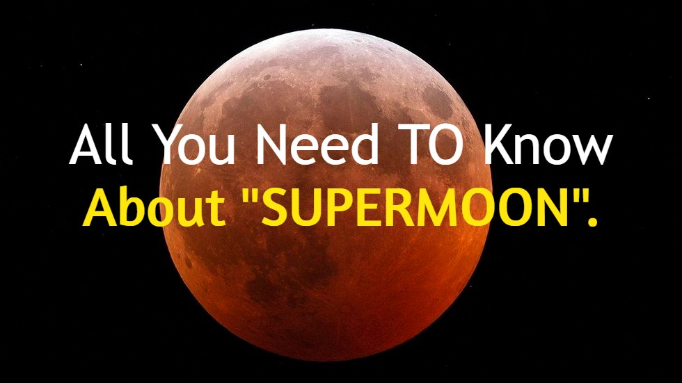 A view of SuperMoon 2020 May's FlowerMoon