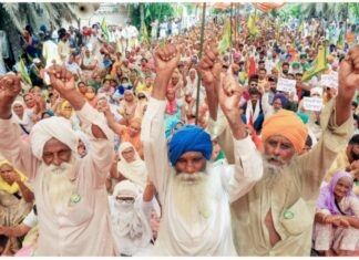 protest against Agriculture Reform Bills in Punjab, Haryana