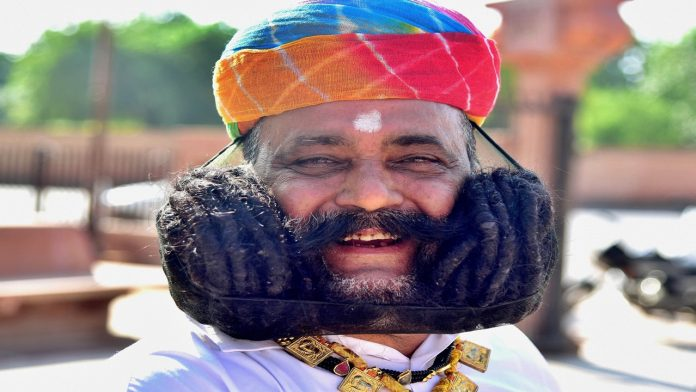 World Tourism Day: Girdhar Vyas Longest moustache in the world