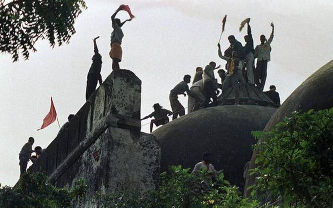babri masjid demolition ayodhya