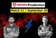 DC vs SRH Dream11 Team Hints And Predictions