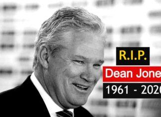 Dean jones dies of heart attack