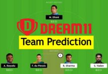 Dream 11 Team Prediction ipl