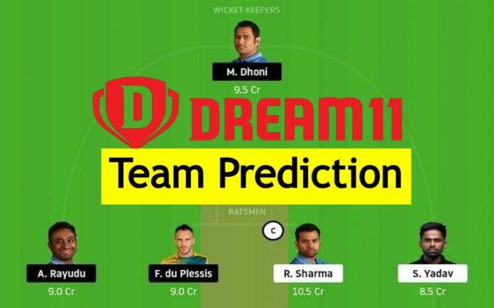 Dream 11 Team Prediction ipl
