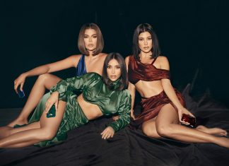 kim kadarshian launches KKW Fragrance Diamonds II by Kourtney Khloé
