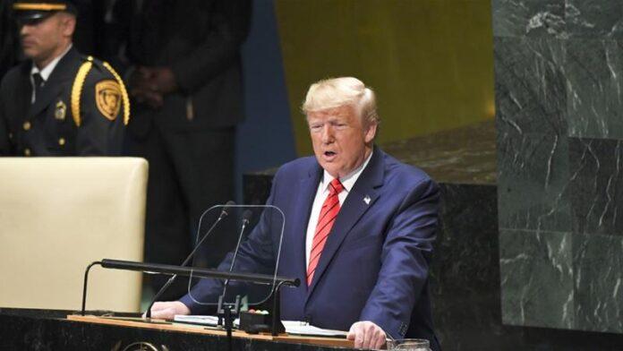 China should be held responsible for coronavirus says Trump at UN general assembly