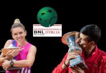 italian open 2020 Novac Djokovic simona halep