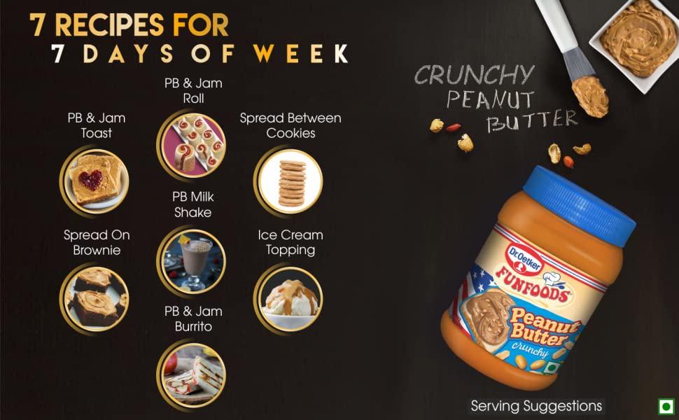 Dr Oetker Fun Foods Peanut Butter Crunchy