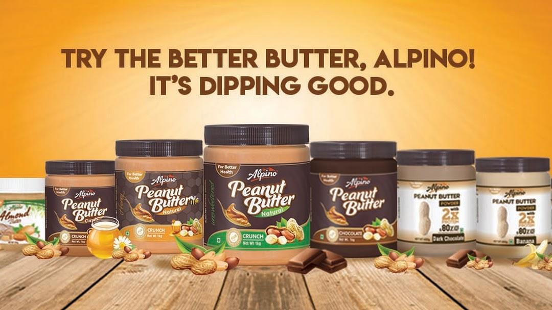 Alpino Natural Peanut Butter Crunch