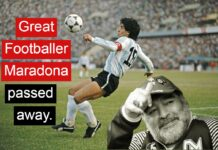 Maradona dead-Argentina legend passes away at 60