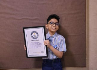 Arham Om Talsania creates Guinness World Record World's Youngest Computer Programmer
