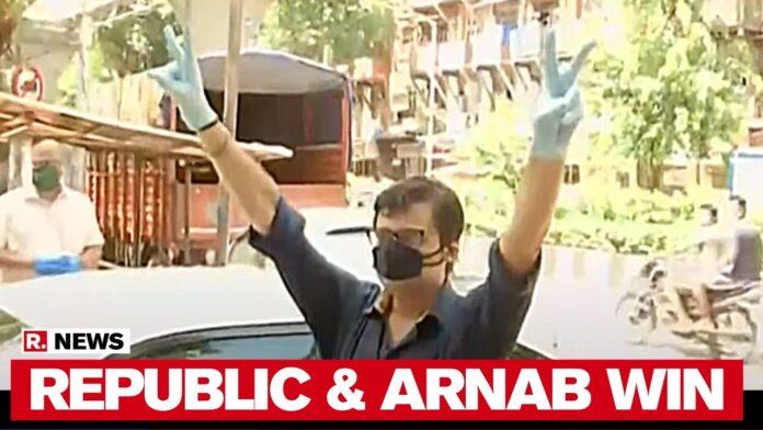 Republic TV Editor-in-chief Arnab sent to 14-day judicial custody