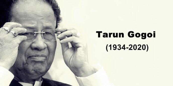 Former Assam CM Tarun Gogoi passed away