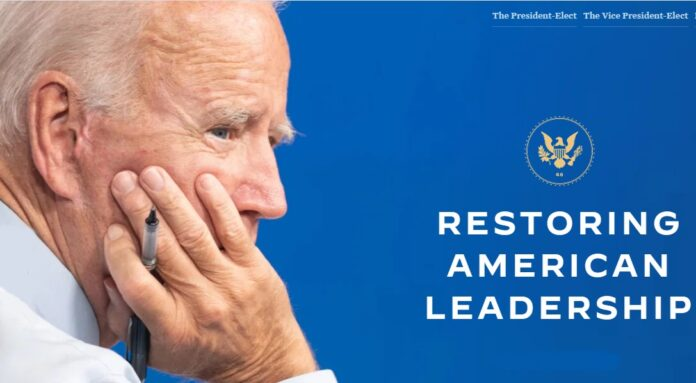 Transition Website: Biden's campaign formally launches its website
