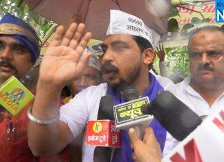 69000 शिक्षक भर्ती आंदोलन में अभ्यर्थियों के समर्थन में उतरे चंद्रशेखर आजाद 'रावण'